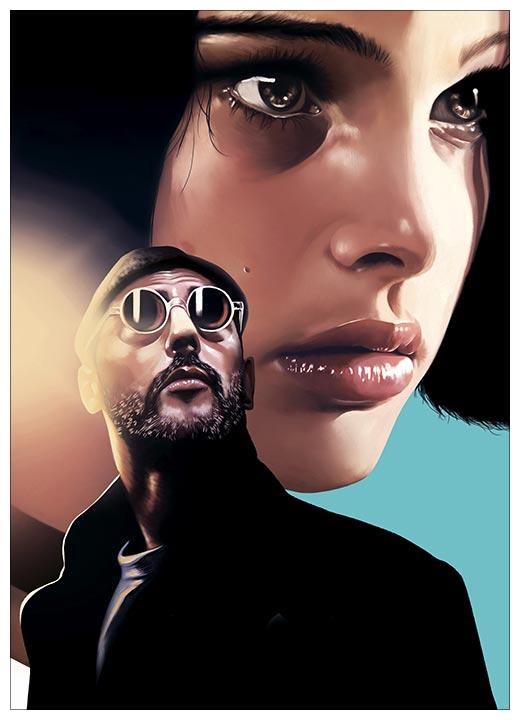 Панорамный постер Leon / Леон